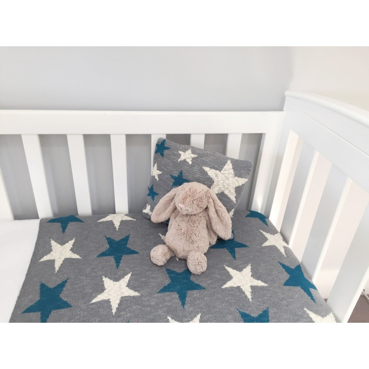 Blue Star Baby Blanket