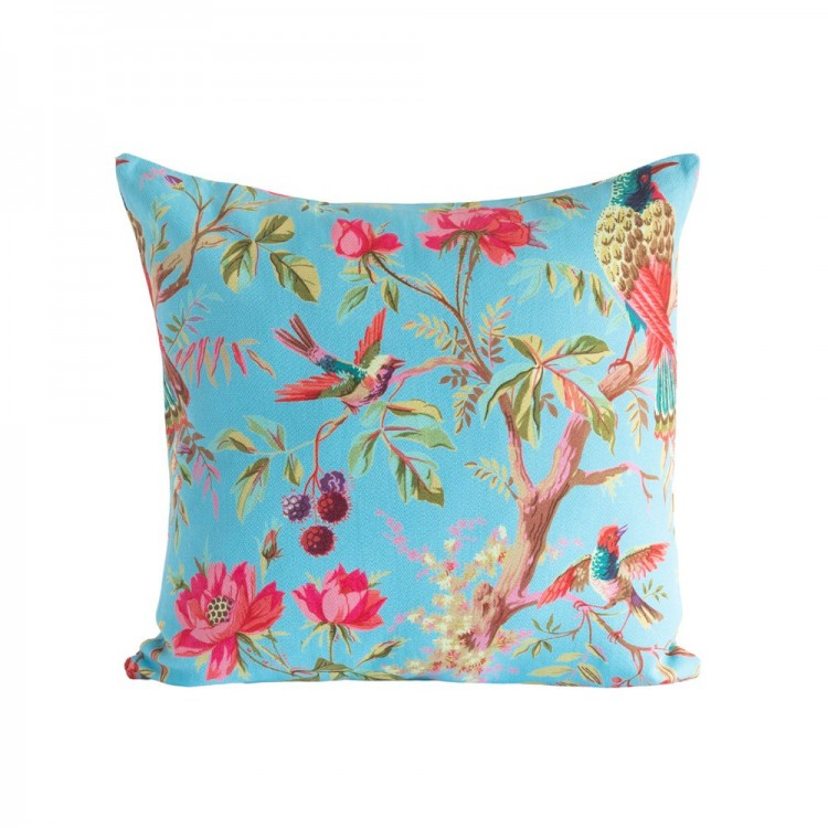 Sky Blue Paradise Cushion