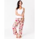 Rose Paradise Lounge Pants with pockets