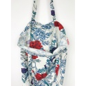 Red Peony Tote