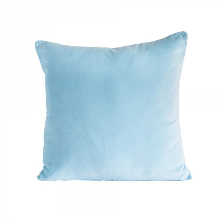Sky Blue velvet/linen Cushion