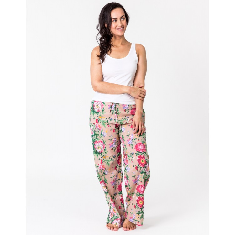 Natural Bloom Lounge Pants