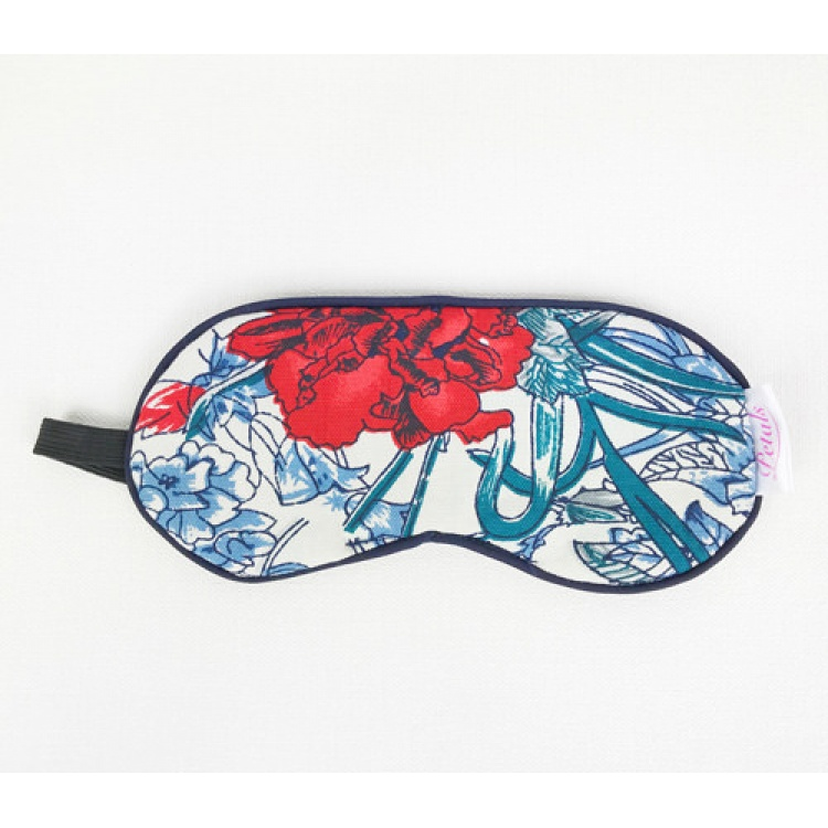 Red Peony Eye Mask