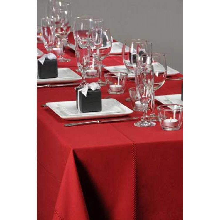 TABLECLOTH ajoure chili large