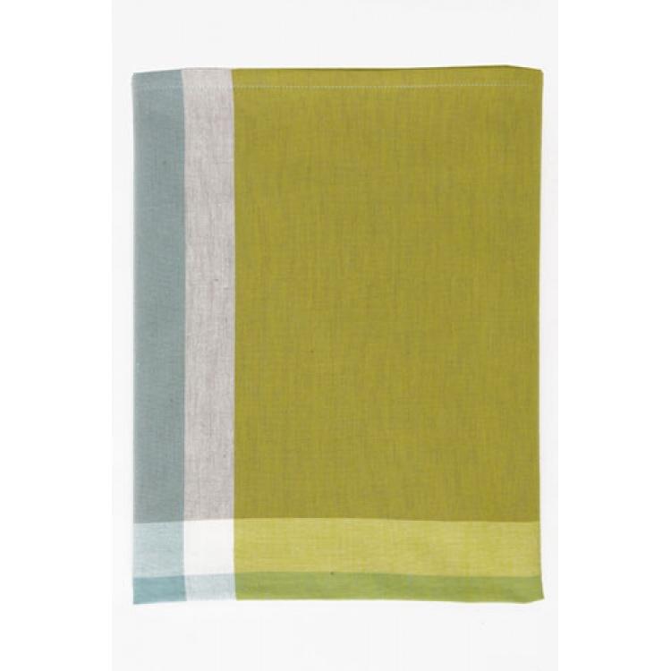 Checks Lime Tablecloth